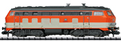 German Diesel Locomotive Class 218 of the DB (Sound)