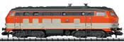 German Diesel Locomotive Class 218 of the DB (Sound)