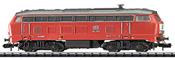German Diesel Locomotive Series 218 of the DB AG