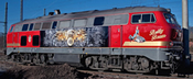 German Diesel Locomotive 218 469-5 (Sound)