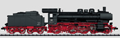German Steam Locomotive with Tender Series 038.10-40 of the DB (Sound Decoder)