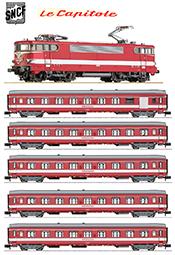 French LeCapitole Express Train Set (Digital Sound)
