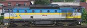 Slovenian Diesel Locomotive Rh 750 of the ZSSK, Sound