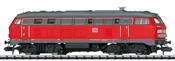 German Diesel Locomotive Class 218 of the DB AG (Sound)