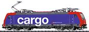 Swiss Electric Locomotive Re 482 of the SBB
