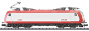 Luxembourg Electric Locomotive Class 4000 of the CFL