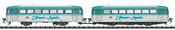 German Railbus Class 798 of the DB (Sound)