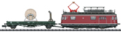 German Powered Catenary Maintenance Rail Car (Sound) - MHI Exclusive