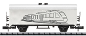 Hobby-Refrigerator Car for Do-Yourself-Painting