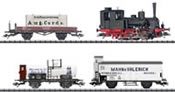 German Steam Locomotive Train Set 800 Years of Rostock of the DRG (DCC Sound Decoder)