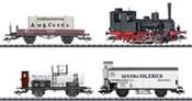 German Steam Locomotive Train Set 800 Years of Rostock of the DRG (DCC Sound Decoder)