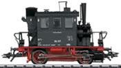 German Steam Locomotive BR 98.3 Glaskasten of the DB (DCC Sound Decoder)