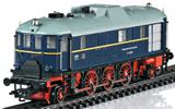 German Museum-Diesel Locomotive V 140 001 of the DRG