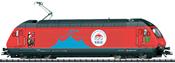 Swiss Electric Locomotive Class Re 460 of the SBB