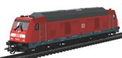 German Diesel Locomotive BR 245 of the DB AG, Sound