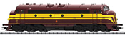 Luxembourg Diesel Locomotive Series 1600 of the CFL (DCC Sound Decoder)