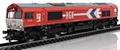 German Diesel Locomotive EMD Series 66 of the HGK