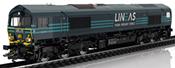 Dgtl Diesel Locomotive EMD cl 66, LINEAS,VI