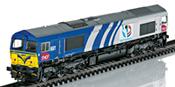 Diesel Locomotive Class 66 (DCC Sound Decoder)