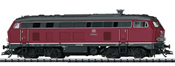 German Diesel Locomotive Series 218 of the DB (DCC Sound Decoder)