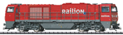 Italian Diesel Locomotive G 2000 BB Vossloh cab Railion (DCC Sound Decoder)