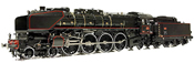 French Express Train Steam Locomotive Class 241-A 65 of the SNCF (DCC Sound Decoder)