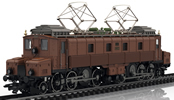 Swiss Electric Locomotive Class Fc 2x3/4  Köfferli of the SBB
