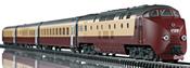 Swiss Diesel Powered Railcar Train Class RAm TEE EDELWEISS (DCC Sound Decoder) - Trix Club