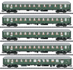 5pc Express Passenger Train Set 1 D96 Isar-Rhone - INSIDER MODEL