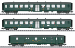 3pc Express Passenger Train Set 2 D96 Isar-Rhone - INSIDER MODEL