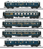 """Simplon Orient Express"" Express Train Passenger Car Set 1"