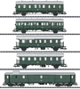 Passenger Car Set for the Class E 44.5 - INSIDER MODEL