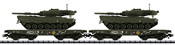 German Federal Army Freight 2-Car Set with Tanks