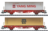 German Container Car Set of the DB AG
