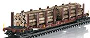 Wood Transport Stake Car Set
