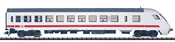 German Intercity Control Car of the DB AG