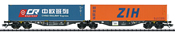 Type Sggrss Double Container Transport Car PKP Cargo, Era VI