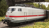German Electric Locomotive Class 103.1 of the DB AG (DCC SOund Decoder)