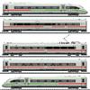 Dgtl Class 412/812 ICE 4 Pwrd Railcar Train, Green Stripe, DB AG