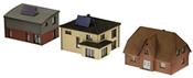Laser Cut Modern Houses 3pc Kit