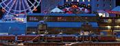 Laser Cut Port Shed with 2 Portal Cranes