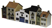 Laser Cut French Townhouses Kit
