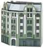 Building Kit for a Large Corner City Building in Art Nouveau