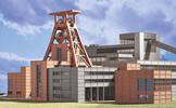 Coalmine (Zeche Zollverein) Conveyor Layout in Essen