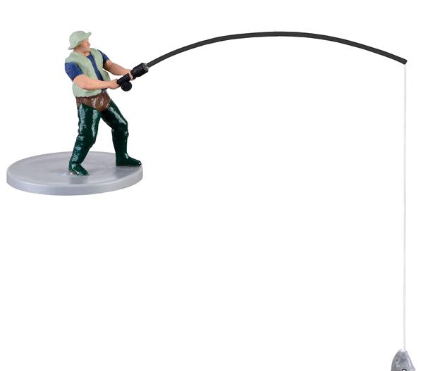 Viessmann 1516 - H0 Fisherman, moving