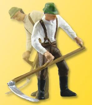 Viessmann 1520 - H0 Farmer with scythe, moving