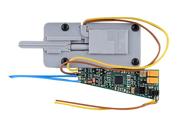 Viessmann 4567 - TT Motorized point machine for Tillig bedweights - replaces 4557