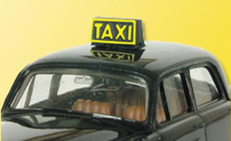 Viessmann 5039 - HO Lighted Taxi sign