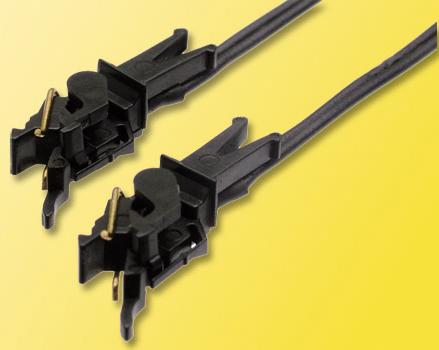 Viessmann 5048 - H0 Conducting couplers, 2-pole, 1 pair