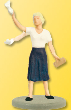 Viessmann 5055 - HO Woman waving with movable arm